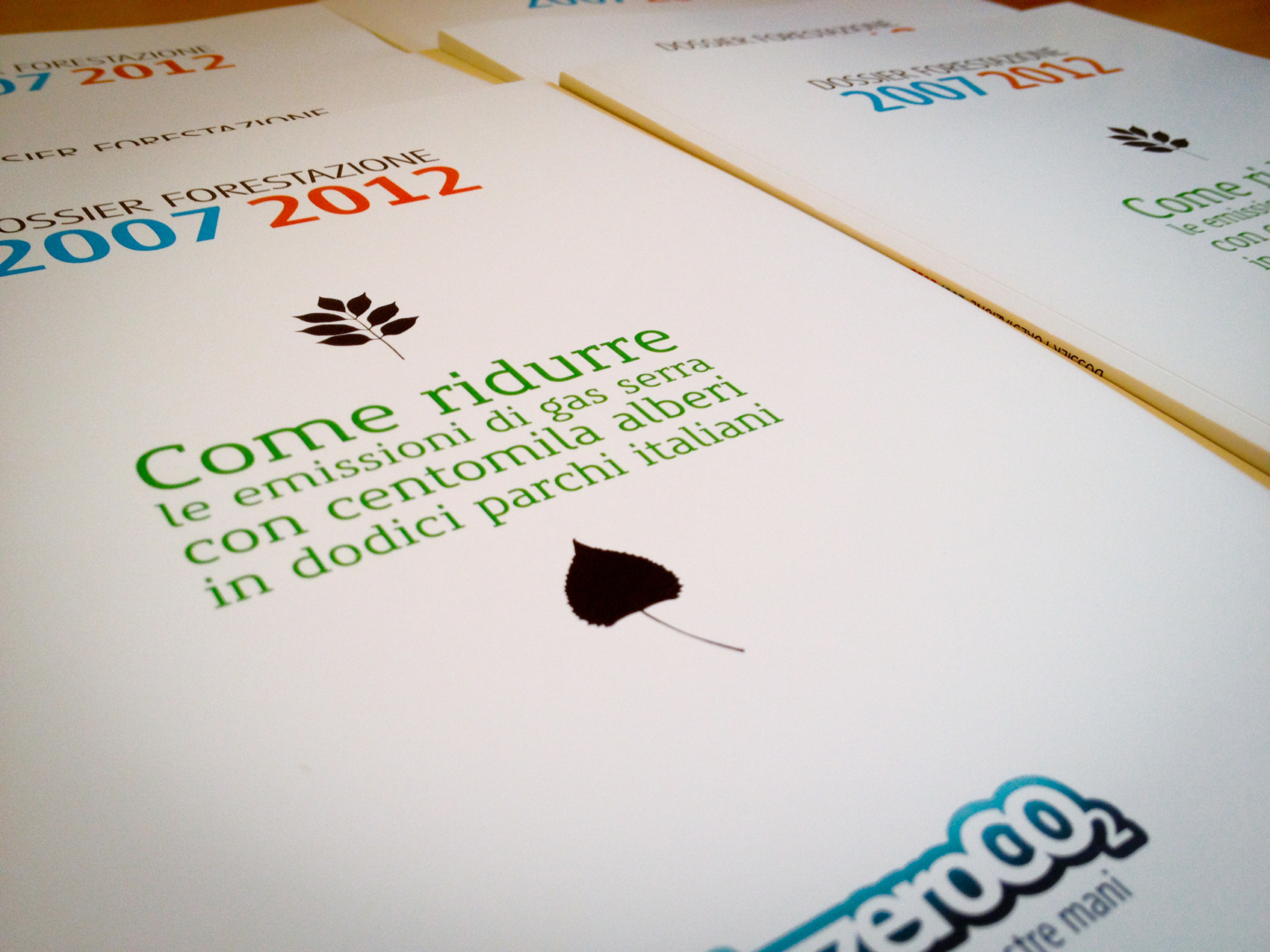 Dossier Forestazione 2007-2012